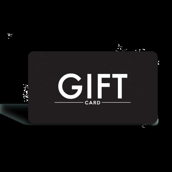 Black giftcard